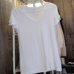 White Old Navy Top